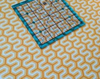 Simply Sweet Zig Zag in Orange C3464 by Lori Whitlock for Riley Blake Fabrics 1 yard