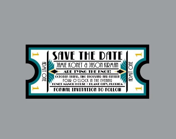 Concert Ticket Invitations as beautiful invitations ideas