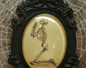 Cheselden Praying Skeleton Baroque Necklace