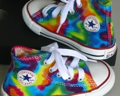 Toddler Made to Order ... Tie-Dye High Top Converse Sneakers
