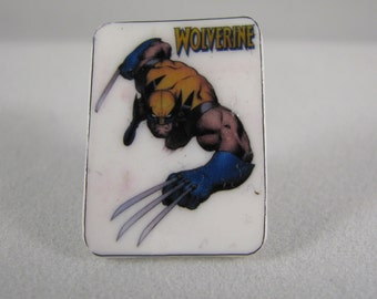 Shrinky Dinks Wolverine Tie Tack or Pin