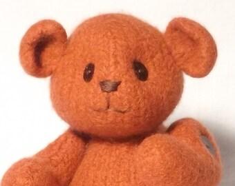 Knitting Pattern pdf Teddy Bear