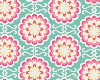 Art Gallery • Chromatics • Fancy buttons candy Cotton Fabric 0.54yd (0,5m) 001922