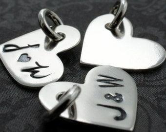 "Sterling Silver 1/2"" Heart Charm - EWD Extras and Add Ons"