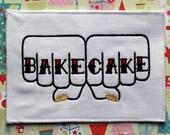 Bake Cake Embroidery - Unframed