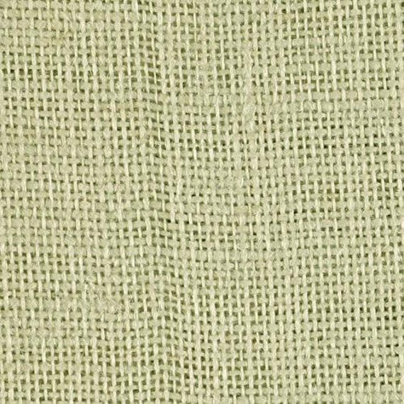Sage Green Burlap Fabric By The Yard 58 60 Inches Wide