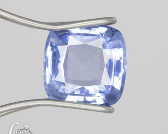 Cushion Loose Sapphire - Natural Cornflower Blue Sapphire for Your Engagement Ring - LSG315