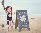 New Pirate Ship Tank Shirt Size 3m to 4t