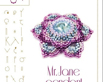 pendant tutorial / pattern Mr Jane pendant...PDF instruction for personal use only