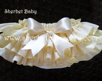 Butter Yellow Classic Style Sassy Pants Bloomers