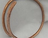 Copper Bangle Bracelet. Arthritus Bracelet,. Chakras Cuff. Pure Copper Wristlet.