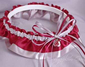 Washington State University Cougars Wedding Garter