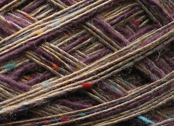Yarn dk light worsted 100 yards Santa Fe Market cotton blend beige purple dk light worsted knitting crochet teal blue turquoise purple tan