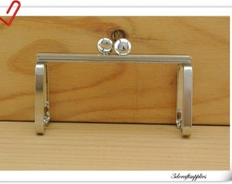 8.5 cm Purse frame for Lipstick case  Barrel purse D78