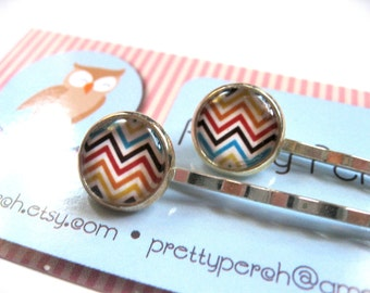 Chevron Hairpin Pair