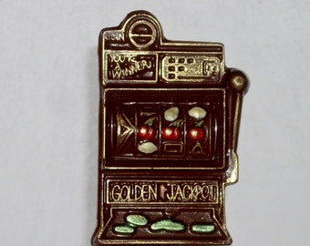 Chocolate Slot Machine lollipop or favor