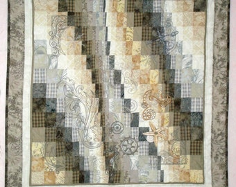Time and Tide Bargello Wall Hanging