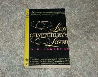 1959--Unread--Lady Chatterley's Lover--D.H. Lawrence--Paperback--Pocket Books--Never Read
