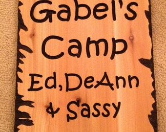 12 x 24 Camp sign