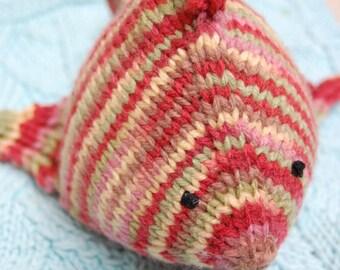 Handknit Fish Plush