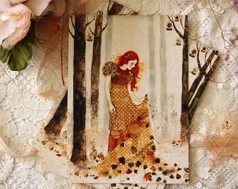Postcard - Autumn Sorcery