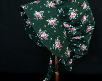 Woman or older girl's pioneer sunbonnet - ready to ship