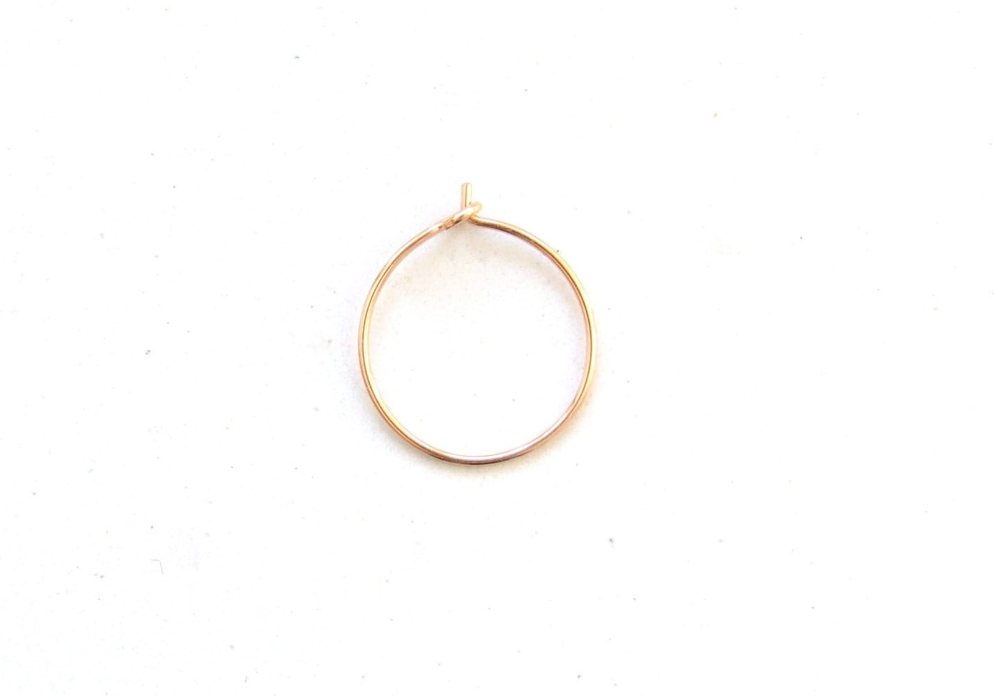 thin gold nose ring thin gold nose hoop gold
