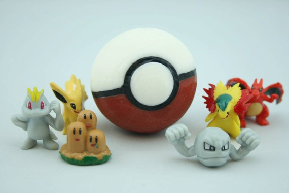 SOAP Pokeball With Toy Inside, Surprise Gashapon