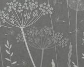SAMPLE Paper Meadow Wallpaper - Charcoal