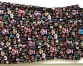 All-cotton Owl shift dress, women's, size 8-10