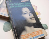 SOLD * ON RESERVE * Vintage Paperback * Robert Gover *Allan Arbus * Cover Photo * One Hundred Dollar Misunderstanding * Artistic Novel