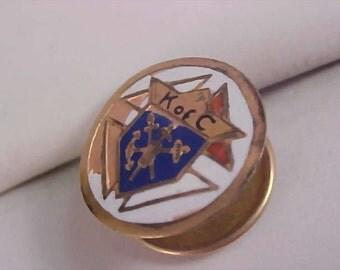 Knights of Columbus Men's Tie/Tac ~ Lapel Pin