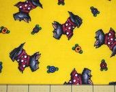 Fat Quarter Mary Engelbreit Signature Scottie Dog Fabric