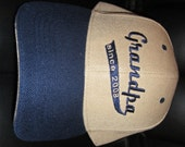 Grandpa since with Date- Custom Embroidered Baseball Hat