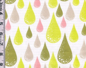 Fabric Free Spirit Tula Pink Prince Charming Dew Drop olive colorway out of print RARE BTY