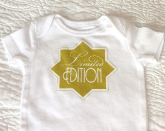 Limited Edition Baby Bodysuit (sizes newborn to 24 months)