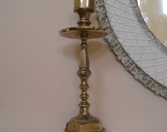 Huge Altar Candle Holder Brass Altar Stick Church Cathedral Candlestick