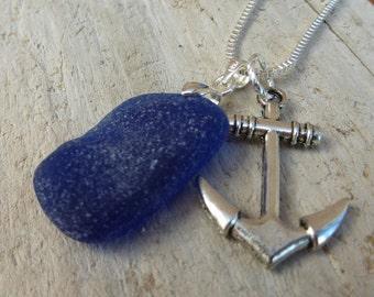 Sea Glass Jewelry Sail Away Sea Glass Necklace