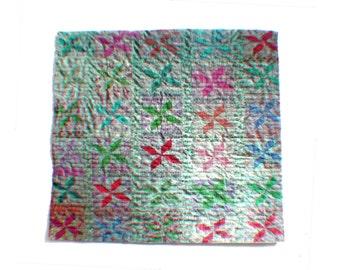 Miniature Illusion Quilt --- Patchwork