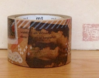 mt expo 2013 wax paper masking tape - collage
