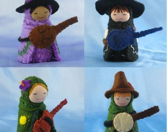 MADE TO ORDER: Musician Doll- Guitar Banjo Choir Singer Mandolin Ukulele