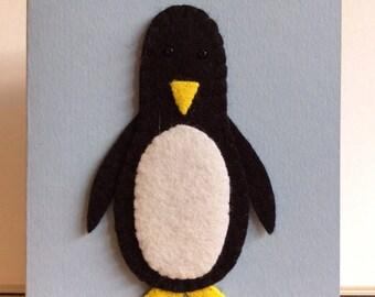 Birthday Card - Penguin