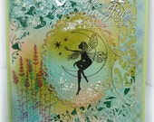 Fairy glen, delightful handmade card