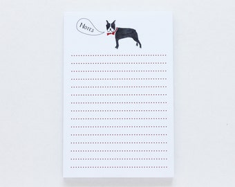 Notepad - Boston Terrier Notes