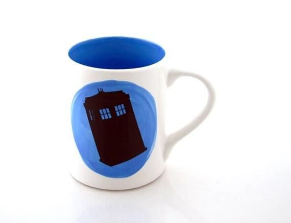 Dr Who Tardis Mug , Bigger on the inside
