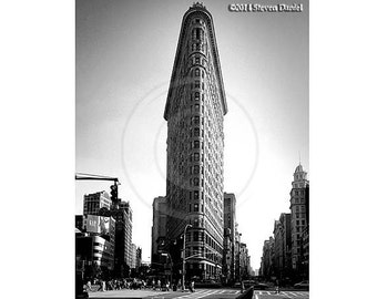 Flatiron Building, New York City, NY Landmark, NY Art