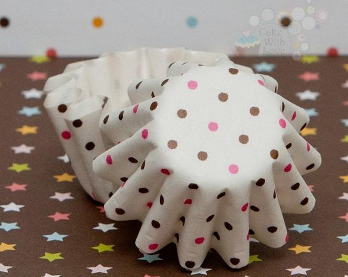 Mini Polka Dot Floret Liners