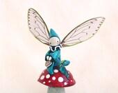 SALE! Mushroom Fairy Poppet - Hope