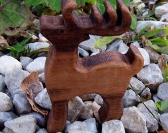 Walnut Reindeer