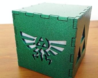 "Legend of Zelda Triforce light box - 3"""